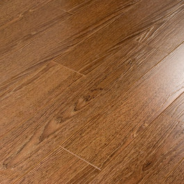 Ecoflooring  Brush Wood Дуб шоколад